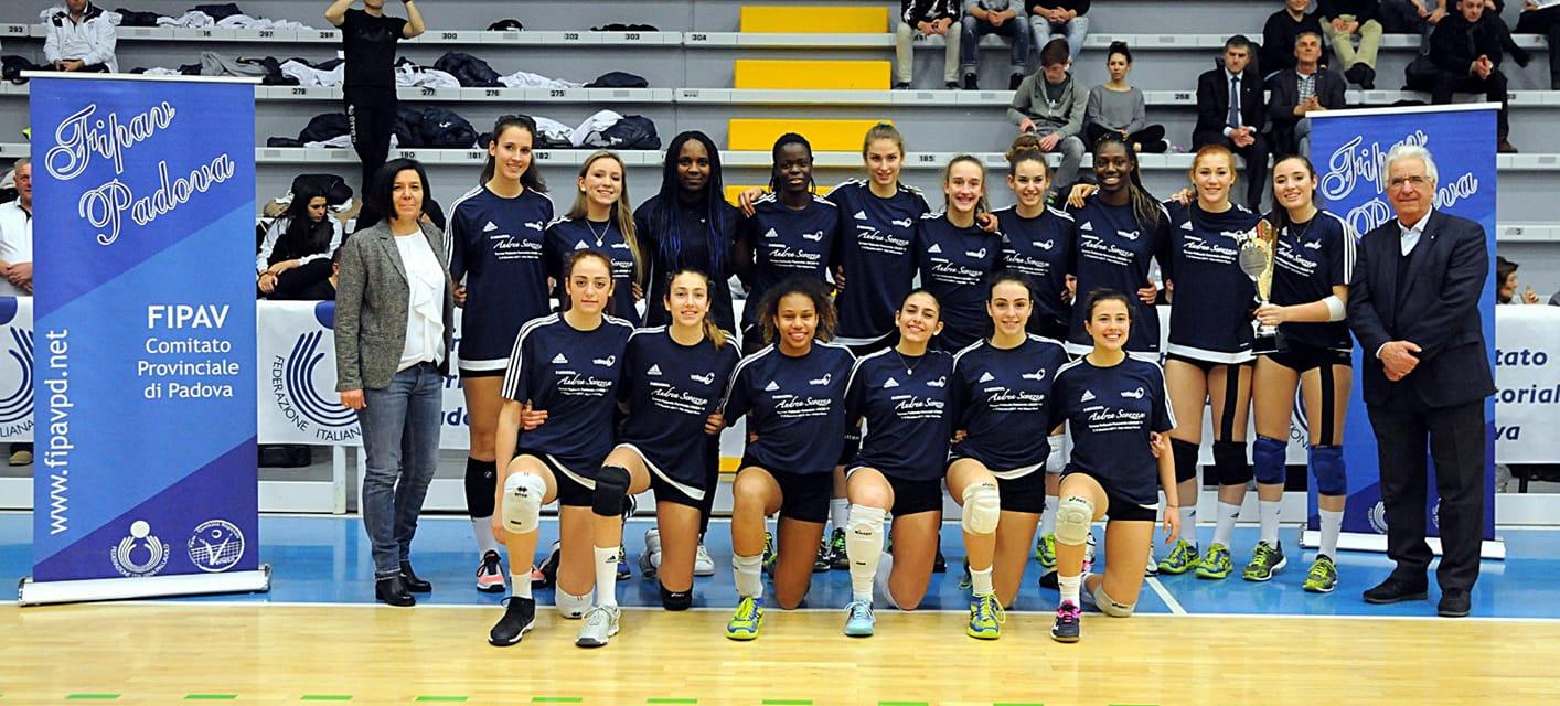 Il Volleyrò Casal de' Pazzi ha vinto l'edizione 2018 del Memorial Campesan