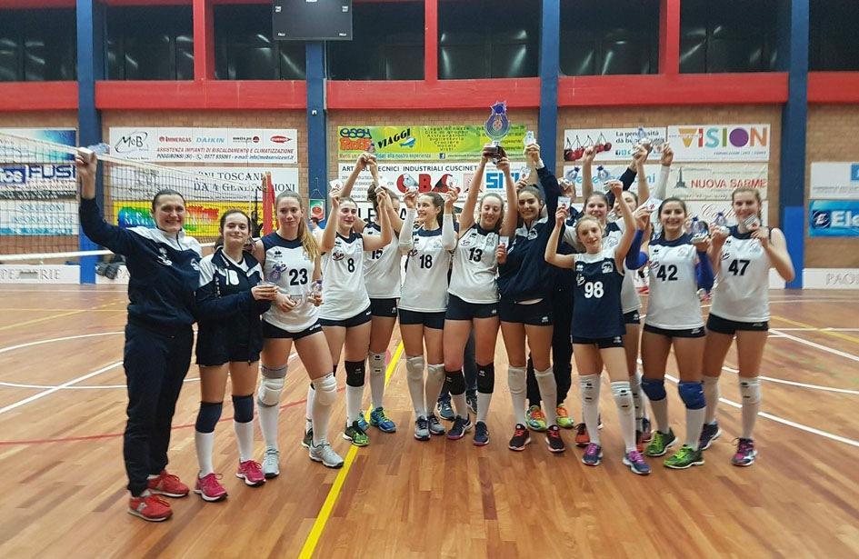 U16 Blu:  Campionesse Provinciali