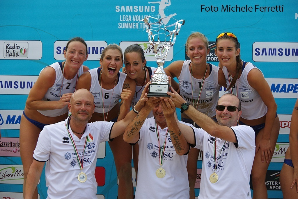 Esordio in Toscana per il Sand Volley 4×4