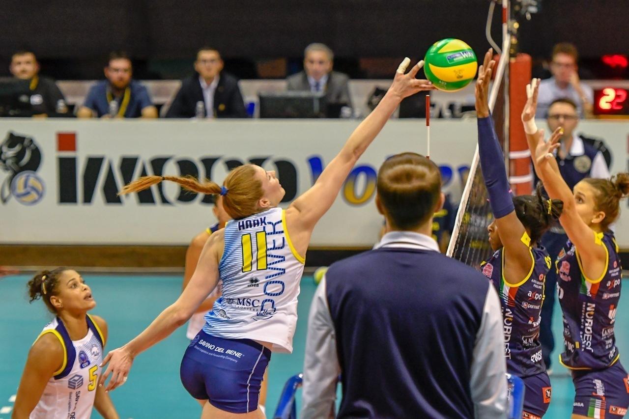Haak top scorer dell'intera CEV, duello Vasileva-Stevanovic nei muri punto, Merlo vola col 52% di efficienza. Tutte le statistiche dopo l'esordio in Champions League
