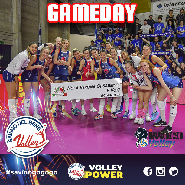GAMEDAY! CI SIAMO! Savino Del Bene Scandicci – Imoco Volley